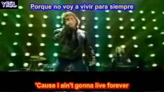 its my life -  Bon Jovi ( SUBTITULADA INGLES ESPAÑOL )