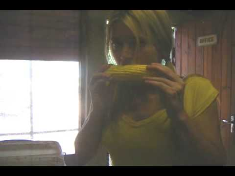 my first time trying raw corn…