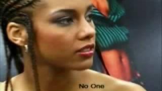 No one Alicia Keys