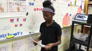 "Two Middle School Students rap to KRS1 ""Outta Here' Instrumental feat Dj Premier"
