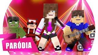 Minecraft: PARÓDIA - MI GENTE (J. Balvin, Willy William) - MEUS DENTES 🎵