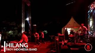 HILANG - KILLING ME INSIDE COVER BY TROY INDONESIA BAND (LIVE ASKOMINDO EVENT STADION MANAHAN SOLO)