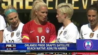 Orlando Pride draft Ashlyn Harris