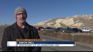 Explosion at US Ecology Idaho site near Grand View