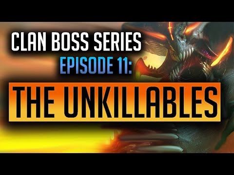 RAID | Clan Boss Series Episode 11: The Best Unkillable teams! 1 Key UNM Batmaneater showcased!