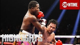Pacquiao vs. Broner: Highlights | SHOWTIME PPV width=