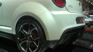 Ginevra 2009 -  MiTo GTA  e stand Alfa Romeo - 7