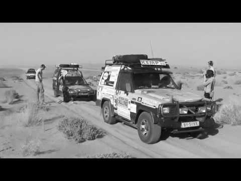 Desert roads in Morocco
