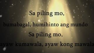 Mahika- TJ Monterde (Lyrics)