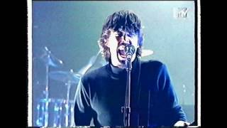 Foo Fighters - Monkey Wrench (1997 MTV UK performance)