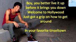 Mitchel Musso Welcome to Hollywood lyrics