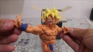 Unboxing - Deslacrando - Figure Action - Son Goku - BANPRESTO - SCultures BIG - Vídeo em Português