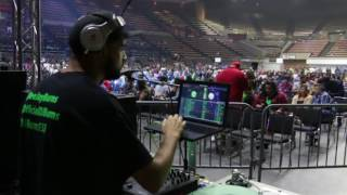 DJ Burns Live at the Mike Epps Show in Fresno, CA