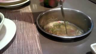 Eating at Kichi Kichi - Saigon Vietnam - Annie