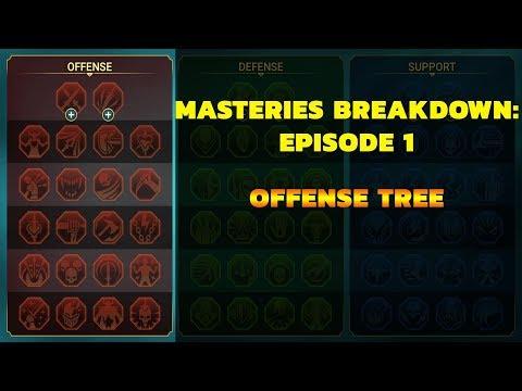 Raid: Masteries 101 - Offense Tree