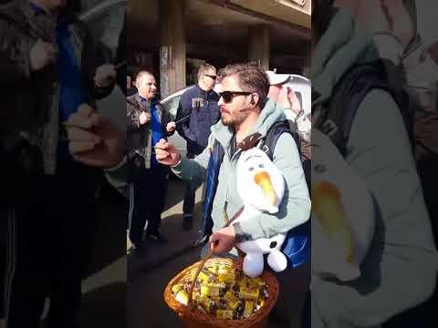Revolta protestatarilor #rezist la congresul PSD