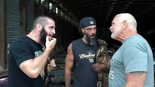 Papa Briscoe advierte a The Briscoes antes de su combate con Killer Elite Squad