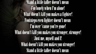 Kelly Clarkson - Stronger (Lyrics) [HQ + HD]