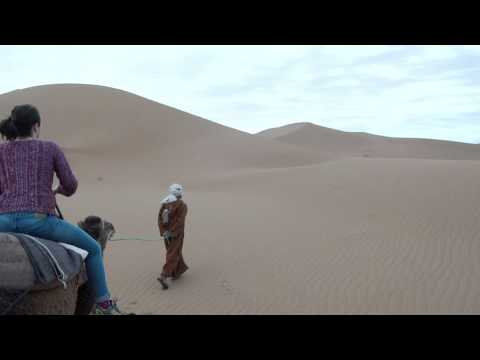Video – Riding Dromedaries through the Chigaga Dessert in Morocco
