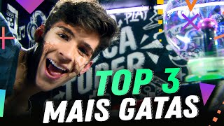 TOP 3 MAIS GATAS | Luca Tuber