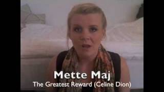 Celine Dion - The Greatest Reward (Cover)