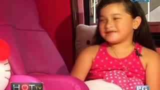 HOT TV: Ang Hello Kitty car ni Jillian Ward