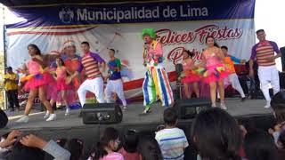 RICOTIN buscando Parque zonal wiracocha 2017