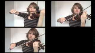 The Hobbit - Misty Mountains (Dwarven Song) Violins Cover - Taylor Davis