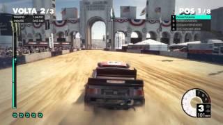 DiRT 3  Gameplay | ColinMcrae vision |  COLISEU .L.A