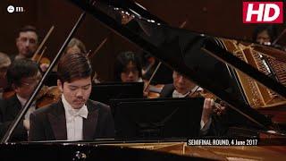 #Cliburn2017 Semifinal Concerto - Honggi Kim - Mozart: Piano Concerto No. 23 in A Major, K. 488