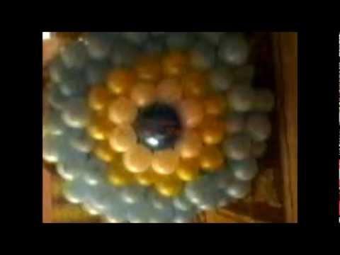 Balondan nazar boncuğu nasıl yapılır