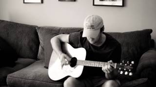 """At the Cross (Love Ran Red)"" Acoustic Cover by Caleb Davidson"