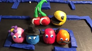 PAC-MAN! Animation Claymation/Typography
