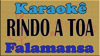 Falamansa Rindo à toa Karaoke