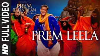 'PREM LEELA' Full VIDEO Song   PREM RATAN DHAN PAYO   Salman Khan, Sonam Kapoor   T-Series width=