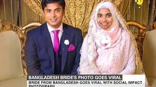 Bride from Bangladesh goes viral with social impact photograph