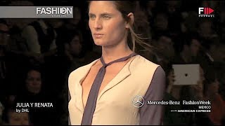 JULIA Y RENATA Spring Summer 2013 MBFW Mexico - Fashion Channel