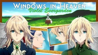 Violet Evergarden AMV If You Could See Me Now Major Gilbert (Gilbert x Violet)
