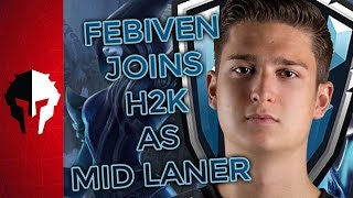 Febiven Moves from Fnatic to H2K to Replace Ryu! - PVP Live