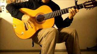 Flamenco guitar! - Santuario (Solea) - Paco Peña - 81 BPM Part 2