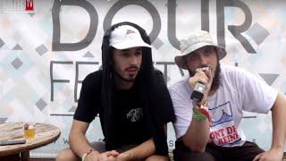 Caballero et Lomepal - Interview @ Dour Festival 2015