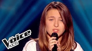 The Voice Kids 2015 | Elisa - Changer (Maitre Gims) | Blind Audition