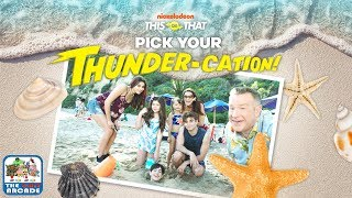 This or That: Pick Your Thunder-cation! - Hit the Beach or Hang at the Pool (Nickelodeon Games)