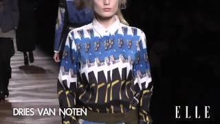 Dries Van Noten. Paris Fashion Week otoño - invierno 2012-20