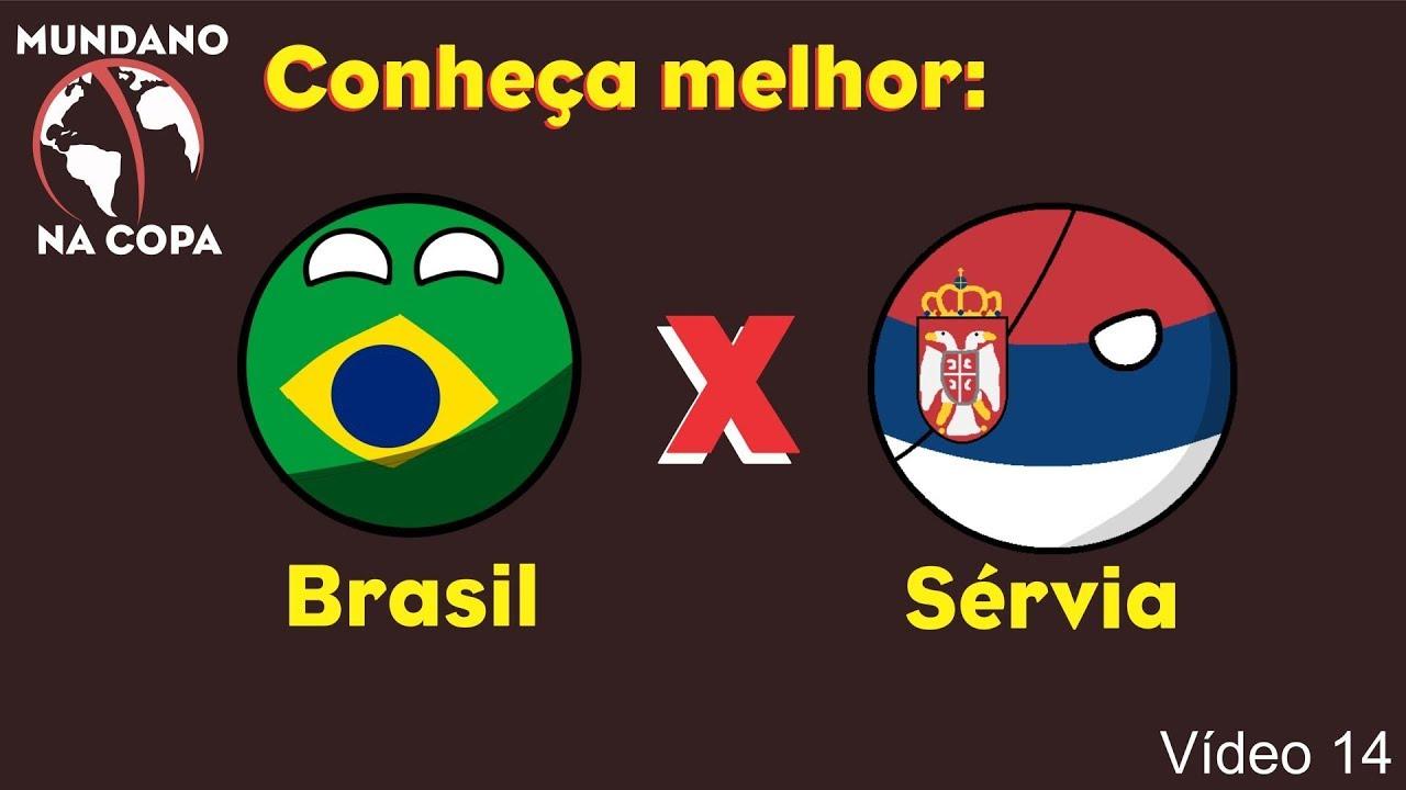 Mundano na Copa #14 – Brasil x Sérvia