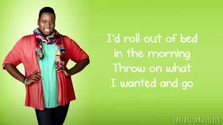Glee - If I Were A Boy (Lyrics)