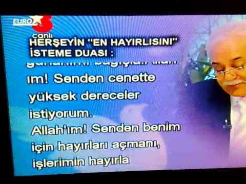 Nihat hatipoglu-HERSEYIN ''EN HAYIRLISINI'' ISTEME DUASI: