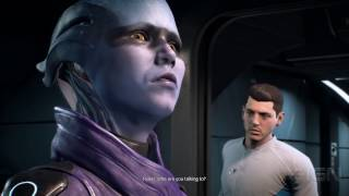 Mass Effect: Andromeda - Peebee Romance Scene