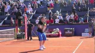 """Antoine Jehanne """"Barcelona Open"""" Tennis 2012"""