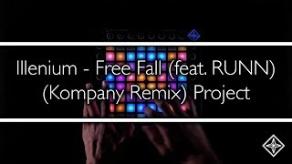 Illenium - Free Fall (feat. RUNN) (Kompany Remix) // Launchpad Cover